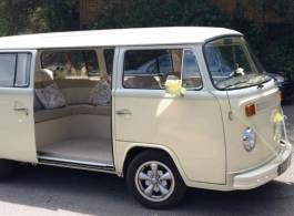 1972 Campervan for wedding hire in Worthing